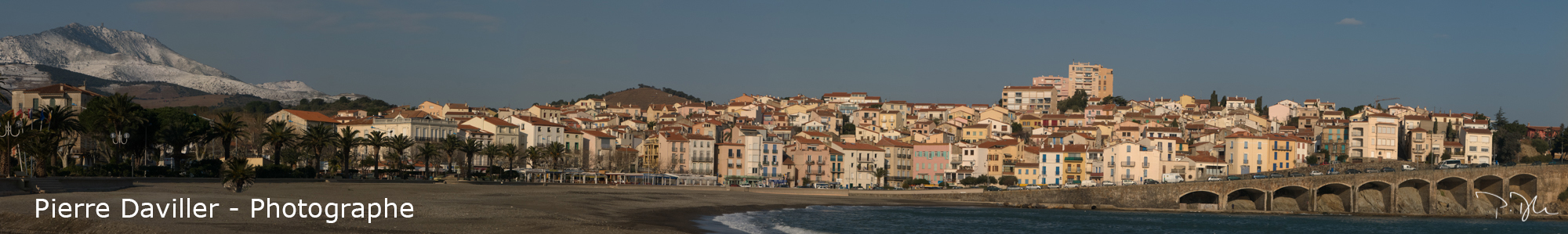 panoramique Banyuls
